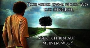 Mein Weg - egal wohin...